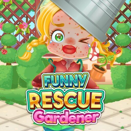 Funny Rescue Gardener