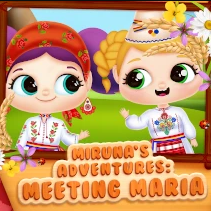 Miruna's Adventures: Meeting Maria